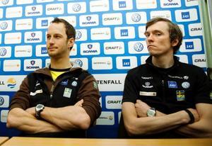 Anders Södergren och Johan Olsson – i dag strider de mot varandra.
