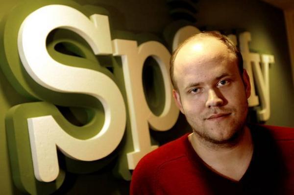 Daniel Ek, grundare av Spotify. Foto: Ingvar  Karmhed/SvD/Scanpix