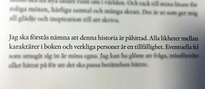 Ett kort utdrag ur Emelie Schepps nya bok, Prio ett.