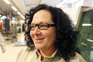 Anna-Carin Nordh, är lärare i svetsteknik och arbetar med utbildningens vuxenelever.