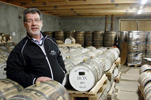 Thomas Larsson, vd för Box Destilleri.