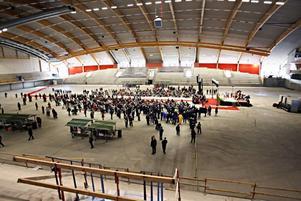Göransson Arena söker guider som är intresserade av både idrotts- och industrihistoria.