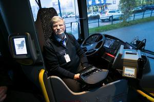 Per Lundqvist är skyddsombud Keolis och busschaufför för Dalatrafik.