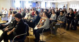 Deltagare vid tvådagarsseminariet på Idre Fjäll med temat naturturism i skyddade områden.