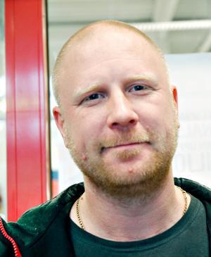 Daniel Wennberg, arbetssökande, 37 år, Gävle.– Löven har varit osynlig. När det gäller jobb händer det inget. De bara pratar. Tyvärr bor man i det sämsta länet.