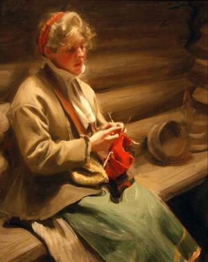 "Klassisk Zorn – ""Kål-Margit"" (1901)."