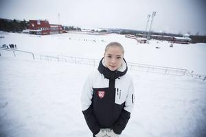 Linn Svalstedt var för ung för att vara med i Tough viking-tävlingen i Åre, då bestämde hon sig för att arrangera en egen tävling i Östersund.