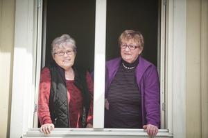 Bygdekooperativet Borgen ekonomisk förening har ett 70-tal medlemmar. Två av dem är Maud Vesterberg och Johnna Christensen. De är besvikna på Ragunda kommun, som de tycker inte gör något för att stötta verksamheten på Borggården.