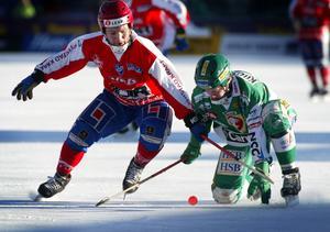 4. Den solide liberon Pavel Franz var en pålitlig näst sista utpost i Vänersborg.
