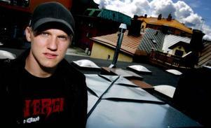 22-årige Alexander Edler från Körfältet i Östersund har nu skrivit fyraårskontrakt med Vancouver Canucks. Foto: Henrik Flygare