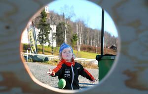 Linus Backman var en hejare på att sikta rätt i Funäsdalen