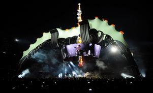 U2:s scen kallas