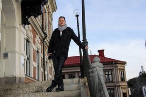 Magnus Svensson (C), oppositionsråd i Söderhamns kommun.