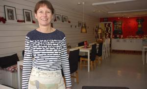 Ägare till Bulldog Café, Kattis Back, ska sälja företaget.