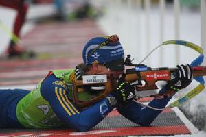 Magnus Jonsson nötte mycket på skjutvallen i dag.