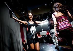 Höstmode med betoning på det unga visades under torsdagkvällens modeshower i Kupolen.