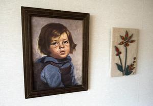 Gråtande barn var inte kitsch för familjen Artursson i Tensta utan uppriktig konst.
