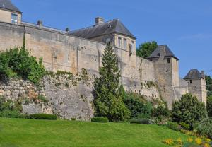 Slottet Château Ducal i Caen. Foto: Shutterstock.com