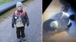 Patrik tappade bort en kasse där Pinge låg i samband med en bussresa onsdagen den 6 november.
