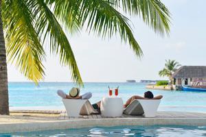Många kostar på sig lite extra på semestern.