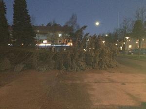 Torggatan i centrala Rättvik.