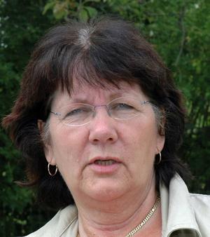Pia Wårdsäter (S), ordförande i utskottet Arbete och omsorg i Tierps kommun.