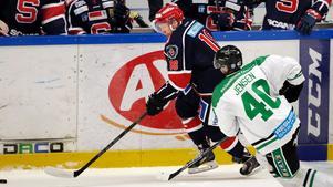 Jakob Karlsson, c.I fjol: Kom in i mitten av säsongen, spelade totalt 41 matcher utan att glänsa nämnvärt.Nu: I Pantern, ett av lagen som gick upp i allsvenskan. 13 poäng och plus 13 den här säsongen.