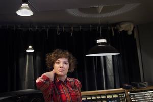 Amanda Bergman skrev och spelade in sitt debutalbum