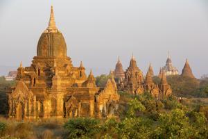 Pagan är en av de stora turistattraktionerna i Burma.
