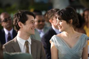 "Joseph Gordon-Levitt och Zooey Deschanel som Tom och Summer  i ""500 days of Summer"". foto: fox"