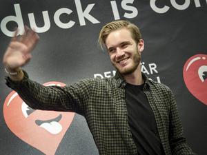 Youtube-fenomenet Pewdiepie (Felix Kjellberg) är ett av affischnamnen för Youtube Red.