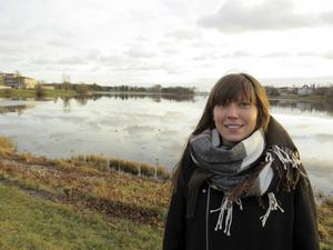 Jenny Gustafsson, 28 år, är ny turistansvarig i Bollnäs.