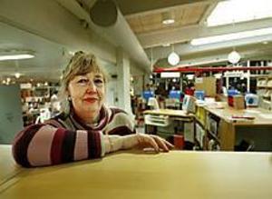 Slagsmål och missbrukare som injicerar knark på toaletten har blivit alltför vanligt på biblioteket i Gävle. Skyddsombudet Ingrid Carlsson har fått nog. Foto: LARS WIGERT