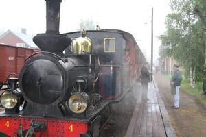 Lokföraren Tomas Nordenadler ska snart lämna stationen i Jädraås.