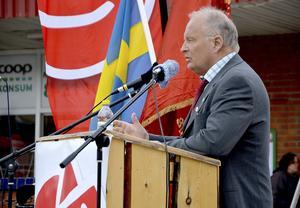 Sten-Ove Danielsson (S), kommunalråd i Ånge ser dystert på regeringens förslag.