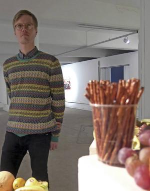Lars Brink, cykelfantast och konstnär.