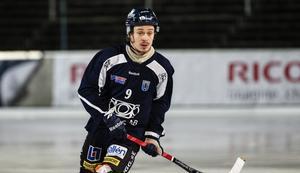 Joonas Peuhkuri gjorde Sirius matchvinnande mål.