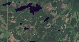 Karta från Google maps.