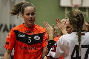 Bäste poängplockare i ÖIB ifjol i SSL, nu återvänder Sabrina Strandberg till Sundsvalls IBF. Foto