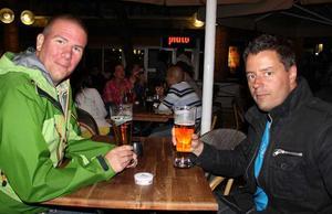 Pitchers. Axel och Johan