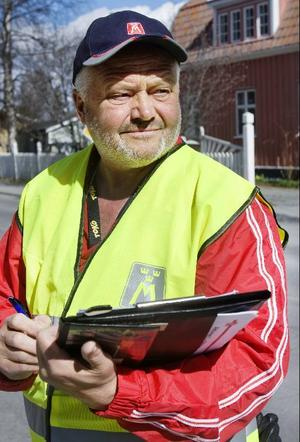 När Stigbjörn Sundell och hans kompisar mätte hastigheterna på några vägsträckor i Östersund noterades åtskilliga fortkörare.