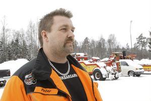 Peter Norén på Hudikbärgarn.