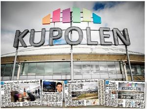 Kupolens köpcentrum i Borlänge. Här har 500 brott anmälts det senaste året.