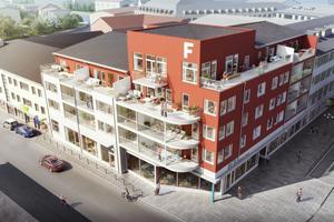 19 lägenheter i Brf Årummet i centrala Falun kommer snart ut för försäljning.