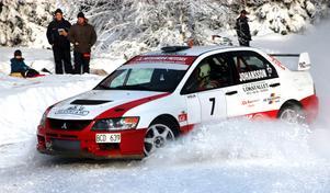 Inget Bergslagsrally 2014. Brist på snö och is gör att vägarna inte blir tillräckligt bärkraftiga.