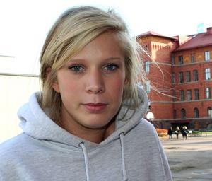 Frida Sjöberg, 18, studerande, Gävle:– Hangloose är bäst eftersom det är så mycket olika folk där.