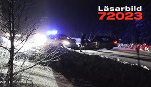 Fyra personer skadade sig vid trafikolyckan i Sälen sent på lördagskvällen.