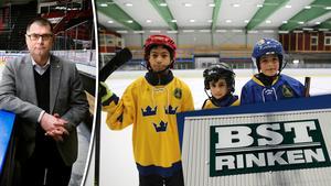 Mats Pernhem är nöjd – Berges schakt och transport blir en ny storsponsor till SSK:s ungdomshockey.