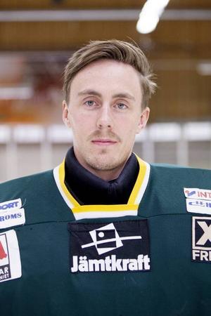 Johan Berge storspelade i målet för ÖIK och räddade även en straff, men fick inte bli matchhjälte.Arkivbild