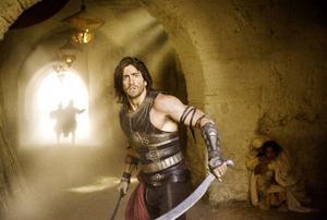 Jake Gyllenhaal har deffat inför rollen som prins Dastan.Foto: Disney Enterprises